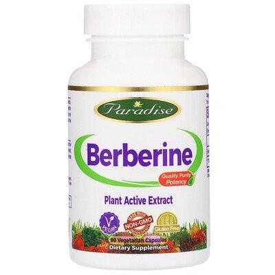ベルベリン、植物性カプセル60錠