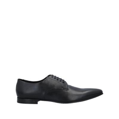 PS PAUL SMITH レースアップシューズ  メンズファッション  メンズシューズ、紳士靴  その他メンズシューズ、紳士靴 ブラック