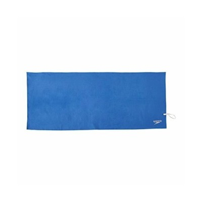Speedo(スピード) スイムタオル ドライ M 100cm×40cm ループ付き コンパクト収納 SD97T53 ブルー BL free