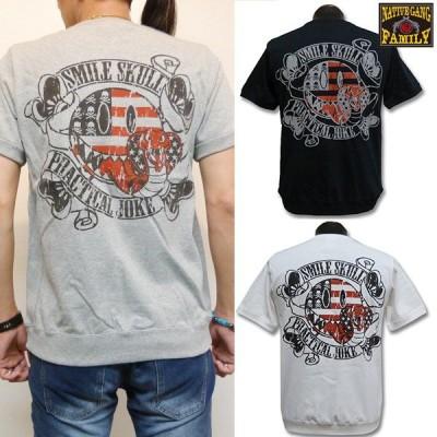NATIVE GANG FAMILY ネイティブギャングファミリー 50%OFF SALE!! スマイルコブラTシャツ NGF14-495 アメカジ