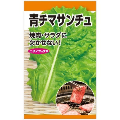 ニチノウのタネ 青チマサンチュウ 日本農産種苗 4960599179302 1セット(5袋入)(直送品)