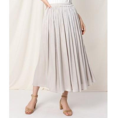 スカート シャイニーヨウリュウロングスカート