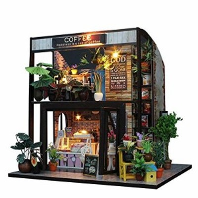 DIY Doll House Dollhouse With Led Light DIY Doll House Wooden Doll Houses Miniature Dollhouse Furniture Kit Toys For Children