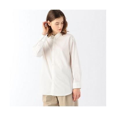 <GALERIE VIE(Women)/ギャルリー・ヴィー> コットンドビー シャツ 11ホワイト【三越伊勢丹/公式】
