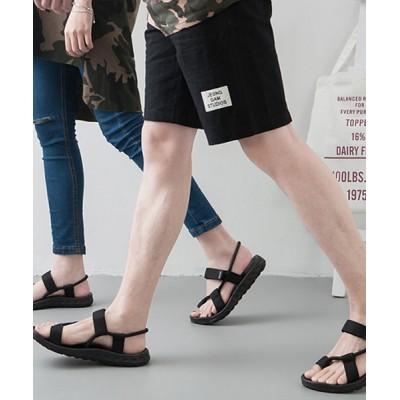 Fun & Daily / Cord Cross Sports Sandals MEN シューズ > サンダル