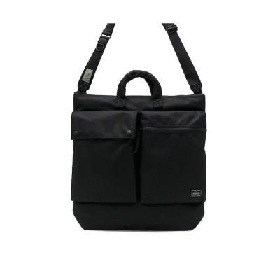 【ギャレリア】 吉田カバン ポーター ヘルメットバッグ PORTER UNIT ユニット 2WAY HELMET BAG ショルダーバッグ B4 A4 784-05463 ユニセックス ブラック F GALLERIA