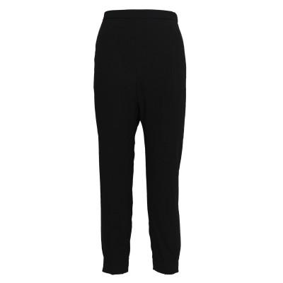 DKNY パンツ ブラック XL ポリエステル 100% パンツ
