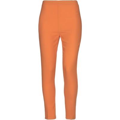 LE COL パンツ オレンジ 46 ポリエステル 100% パンツ