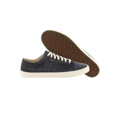 スニーカー メンズ ポインター Pointer Men Seeker Suede (navy / white) Premium Fashion Sneakers sz 8
