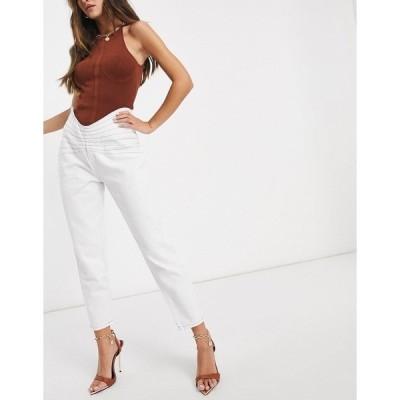 ライオネス レディース デニムパンツ ボトムス Lioness denim jeans in cream Cream