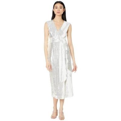 バッジェリーミシュカ レディース ドレス  V-Neck Sequin Wrap Dress