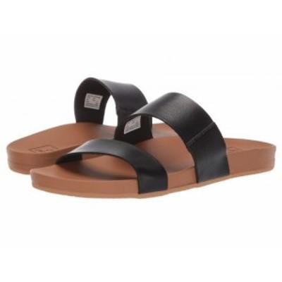 Reef リーフ レディース 女性用 シューズ 靴 サンダル Cushion Vista Black/Natural【送料無料】
