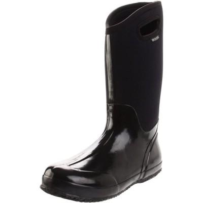 Bogs レディース クラシック ハイハンドル 防水 断熱 雨 冬 スノーブーツ US サイズ: 12 カラー: ブラック