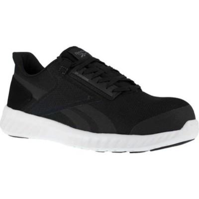 リーボック スニーカー シューズ レディース Sublite Legend Work RB423 Comp Toe Sneaker (Women's) Black/White Mesh
