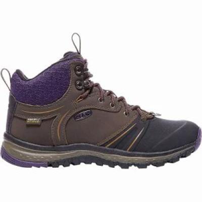 キーン ブーツ Keen Terradora Wintershell Boot Mulch / Plum Plumeria