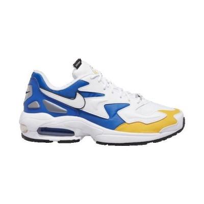 (取寄)ナイキ メンズ エア マックス 2 ライト Nike Men's Air Max 2 Light White White University Gold Game Royal