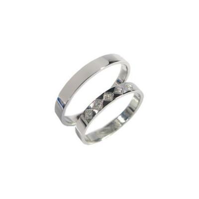 K10ゴールド ペアリング ダイヤモンド 結婚指輪 安い マリッジリング
