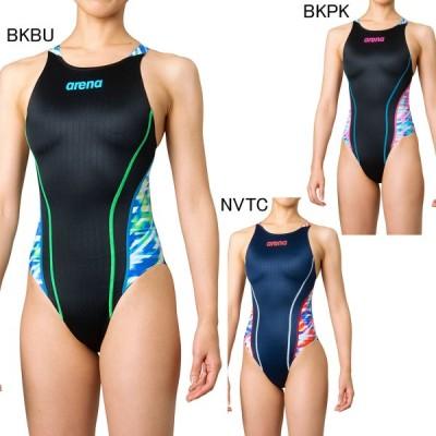 アリーナ 水泳 水球 競泳用水着  レース用 レディース リミック クロスバック FINA承認モデル arena FAR-0545W