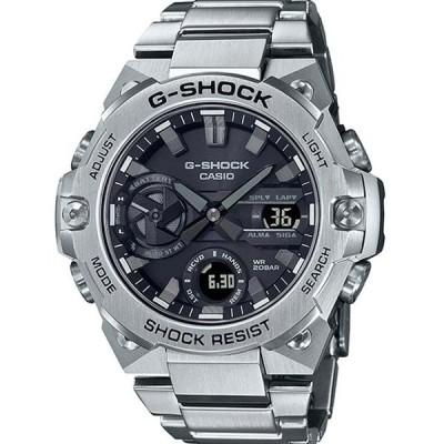 【G-SHOCK】カシオ G-STEEL 腕時計 メンズ スリム モバイルリンク ソーラー  GST-B400D-1AJF【新品】