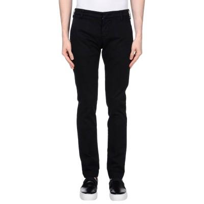 アントレ アミ ENTRE AMIS パンツ ブラック 33 コットン 97% / ポリウレタン 3% パンツ