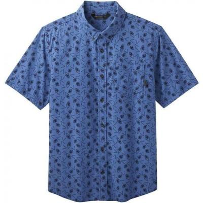 アウトドアリサーチ Outdoor Research メンズ 半袖シャツ トップス Janu SS Shirt Naval Blue