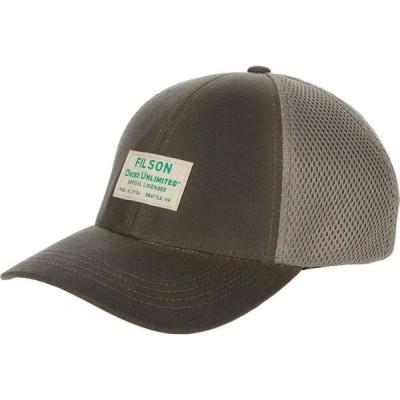 フィルソン Filson メンズ 帽子 Mesh Logger Cap - Ducks Unlimited Otter Green