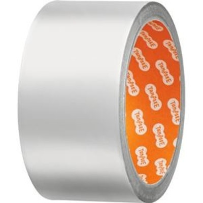 ds-2361089 (まとめ)TANOSEE アルミテープ つやなし 50mm×10m 1巻 【×5セット】 (ds2361089)