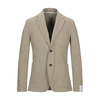 パオロ ペコラ PAOLO PECORA テーラードジャケット ベージュ 48 コットン 97% / ポリウレタン 3% テーラードジャケット