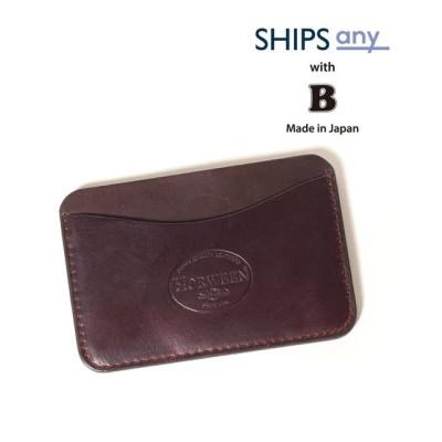 【シップス/SHIPS】 【Begin5月号 掲載】SHIPS any×Begin: 別注 クレイジーカラー HORWEEN カードケース