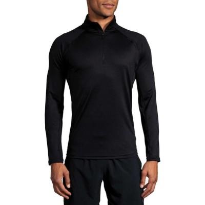 ブルックス Brooks メンズ トップス Dash 1/2 Zip Long Sleeve Top Black