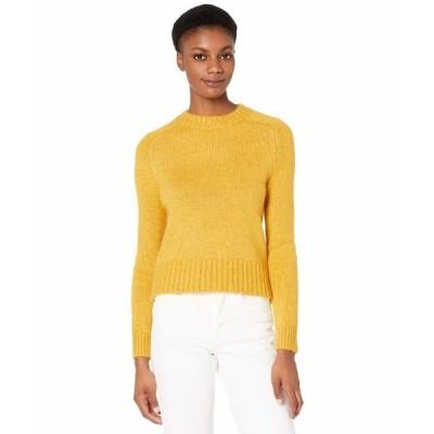 ジェイクルー ニット&セーター アウター レディース Saddle Sleeve Crew Neck Sweater Warm Chartreuse Multi Heather