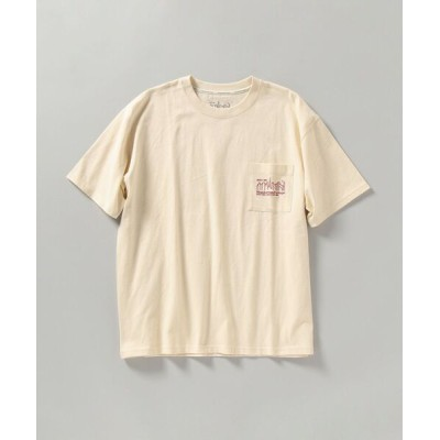 SHIPS / 【SHIPS別注】Manhattan Portage: NYC バックプリント ポケット Tシャツ MEN トップス > Tシャツ/カットソー