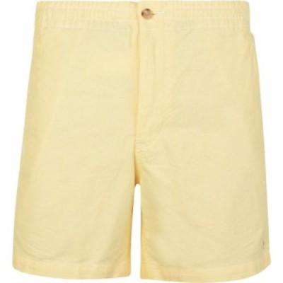 ラルフ ローレン POLO RALPH LAUREN メンズ ショートパンツ ボトムス・パンツ Flat Logo Shorts Yellow