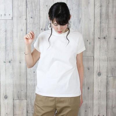 アットワン atONE クルーネックフレンチスリーブTシャツ (OFFWHITE)