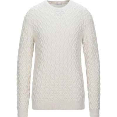 パオロ ペコラ PAOLO PECORA メンズ ニット・セーター トップス Sweater Ivory
