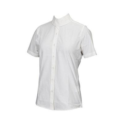 (40, White) - TuffRider Women's Starter Short Sleeve Show Shirt