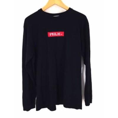 ミルクフェド MILKFED. クルーネックTシャツ サイズJPN:M メンズ 【中古】【ブランド古着バズストア】
