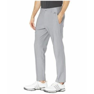 アディダス メンズ カジュアルパンツ ボトムス Ultimate 3-Stripes Tapered Pants Grey Three