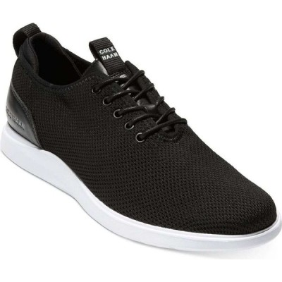 コールハーン Cole Haan メンズ 革靴・ビジネスシューズ シューズ・靴 Grand Plus Essex Distance Knit Oxfords Black