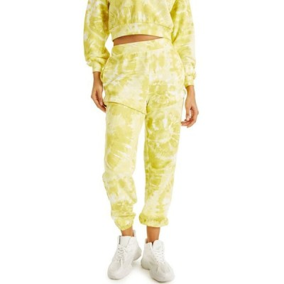 アイエヌシーインターナショナルコンセプト レディース カジュアルパンツ ボトムス CULPOS X INC Tie-Dye Convertible Sweatpants