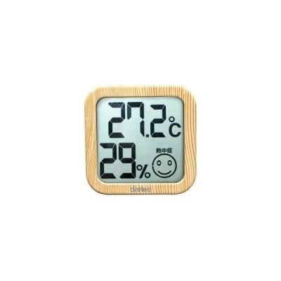 ドリテック デジタル温湿度計 ナチュラルウッド O-271NW ( 1セット )/ ドリテック(dretec)