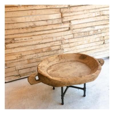 アンティークチャパティプレート ローテーブル