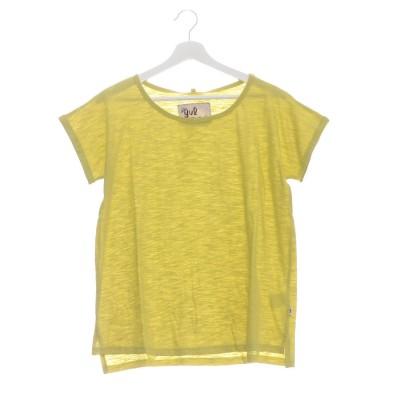 【チャイハネ】yul スラブコットンTシャツ ライム
