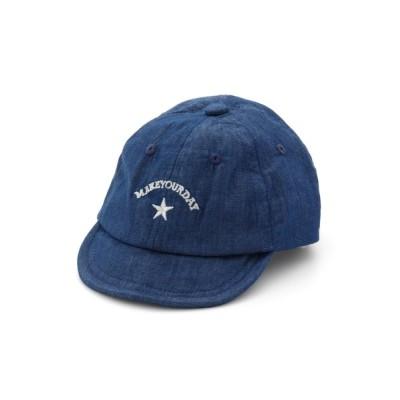 MAKE YOUR DAY / やわらかバイザーキャップ KIDS 帽子 > キャップ