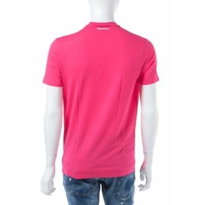 ディースクエアード DSQUARED2 Tシャツアンダーウェア ピンク メンズ (D9M200900)