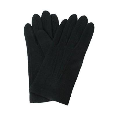 イチーナ 紳士用手袋 アクリル ジャージ ブラック (フリーサイズ) 3101