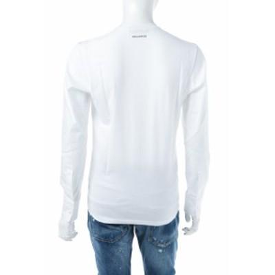 ディースクエアード DSQUARED2 Tシャツアンダーウェア ホワイト メンズ (D9M0B0710) 送料無料