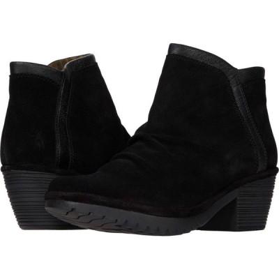フライロンドン FLY LONDON レディース シューズ・靴 WYNN268FLY Wide Black Oil Suede/Mousse