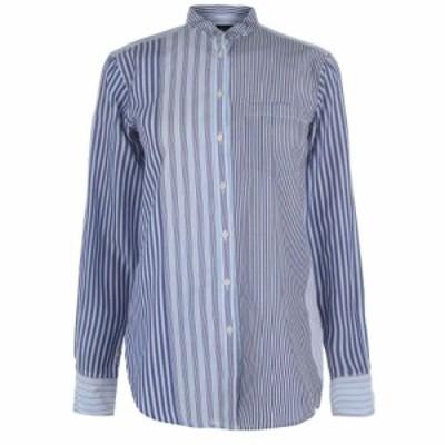 ラルフ ローレン Lauren by Ralph Lauren レディース ブラウス・シャツ トップス Ralph Lauren Kaomina Shirt Blue Multi