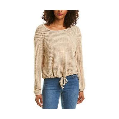 レディース ファッション  ELAN Drawstring Hem Sweater